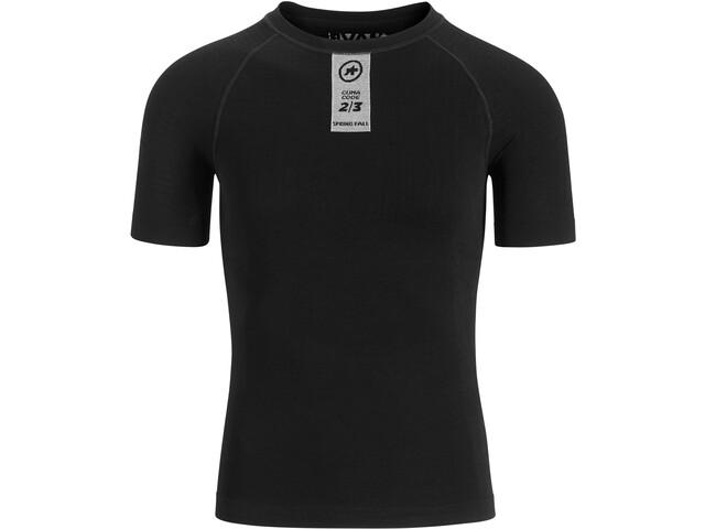 ASSOS Skinfoil Maglietta Base Layer a maniche corte primavera/autunno, black series